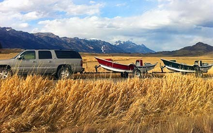 Jackson Hole Wyoming Drift Boat Rentals